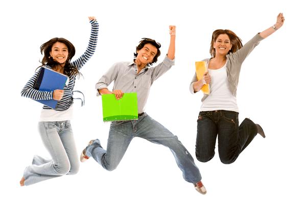 students_jumping